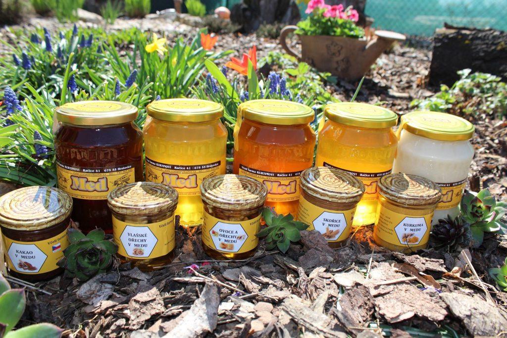Nabídka našich medů